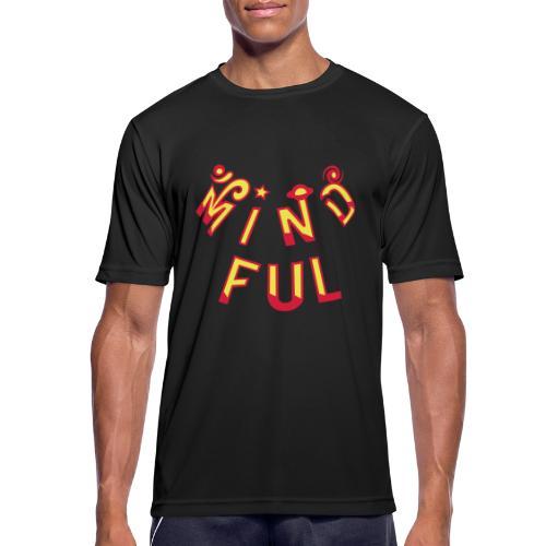 Mindful - Herre T-shirt svedtransporterende