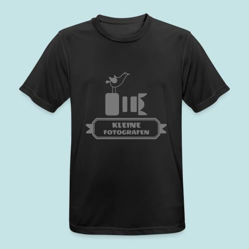 Kleine Fotografen AI SW - Männer T-Shirt atmungsaktiv