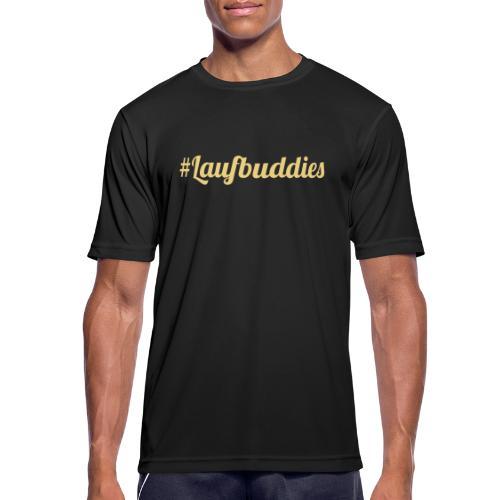 laufbuddies - Männer T-Shirt atmungsaktiv