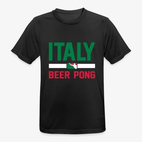 Italy Beer Pong - Männer T-Shirt atmungsaktiv