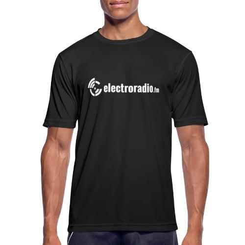 electroradio.fm - Men's Breathable T-Shirt