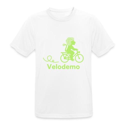 Züri-Leu mit Text - Männer T-Shirt atmungsaktiv