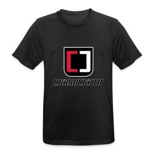 Cover Smartphone - Corsacorta - Maglietta da uomo traspirante
