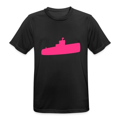 Rosa U-Boot - Männer T-Shirt atmungsaktiv