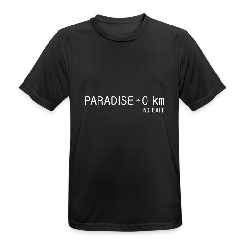 paradise0km - Männer T-Shirt atmungsaktiv