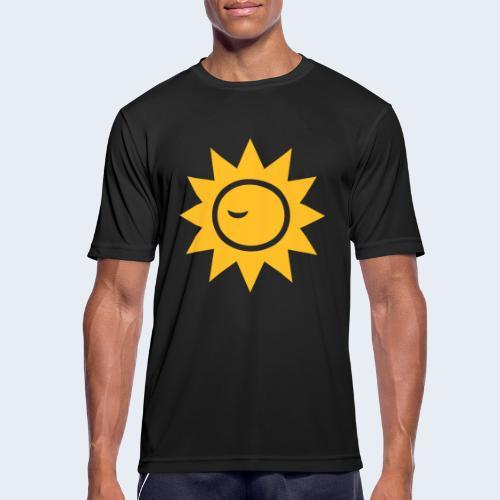 Winky Sun - Mannen T-shirt ademend actief