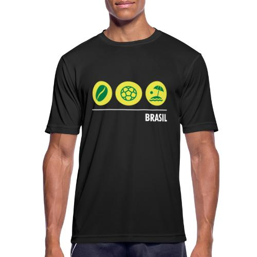 Circles - Brazil - Men's Breathable T-Shirt