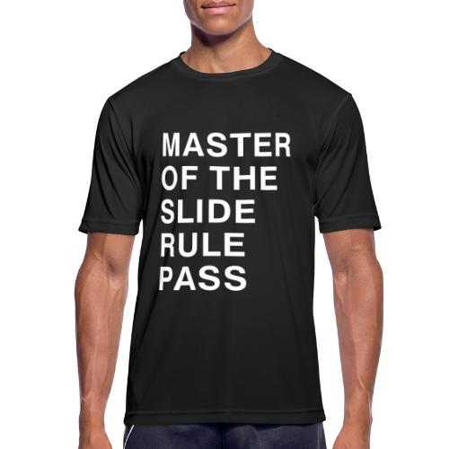 Master of the Slide Rule Pass - Men's Breathable T-Shirt