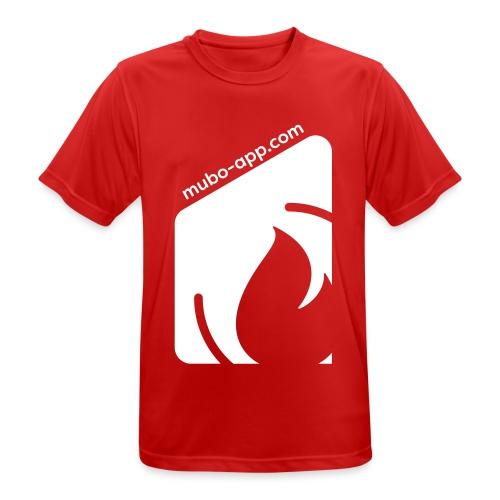 mubo box white - Men's Breathable T-Shirt
