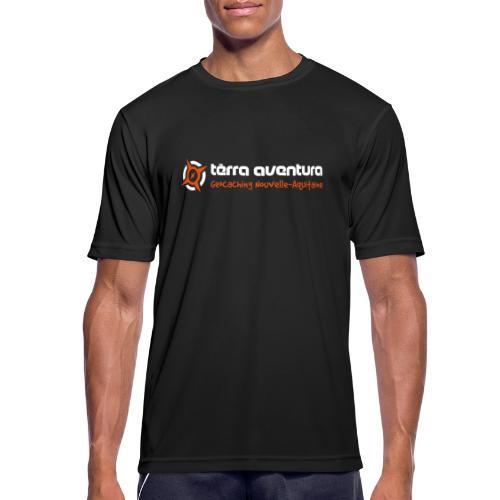 logo terraaventura origin - T-shirt respirant Homme