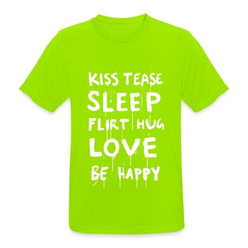 BeHappy - miesten tekninen t-paita