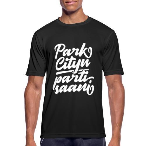 Puistola - Park Cityn partisaani - miesten tekninen t-paita