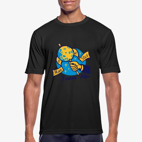 Moon on a Stick - Team Star - Men's Breathable T-Shirt