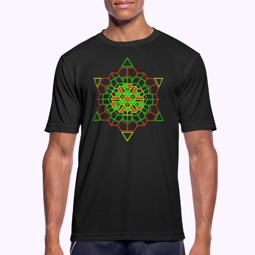 Cosmic Crystal Front - miesten tekninen t-paita