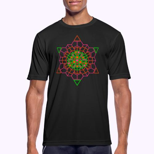 Cosmic Crystal Front - Camiseta hombre transpirable