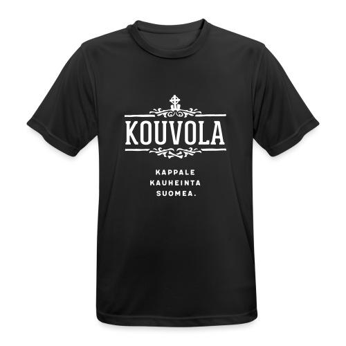 Kouvola - Kappale kauheinta Suomea. - miesten tekninen t-paita