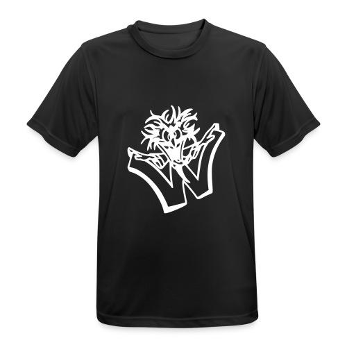 w wahnsinn - Mannen T-shirt ademend actief