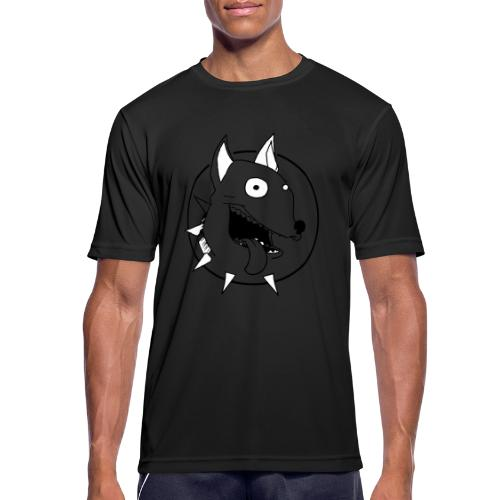 chien fou - T-shirt respirant Homme