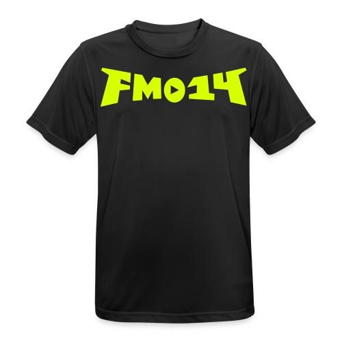 fm014 bat - Männer T-Shirt atmungsaktiv