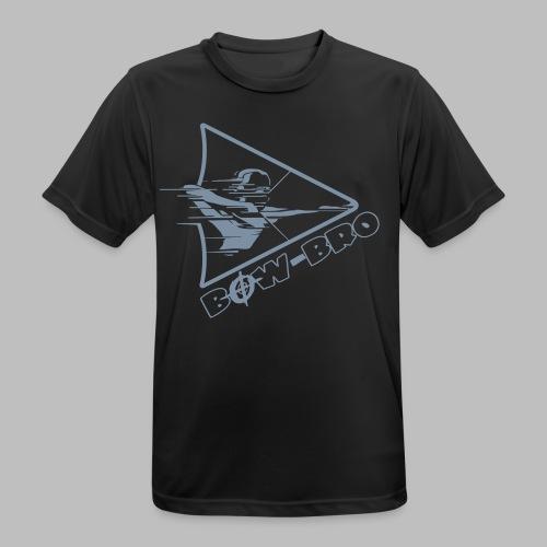 Bow-Bro Logo 2 - Männer T-Shirt atmungsaktiv