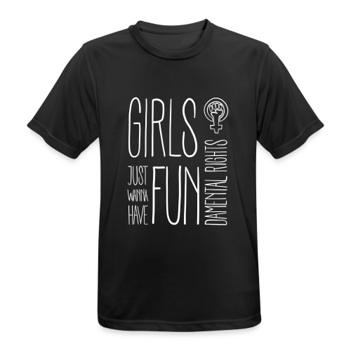 Girls just wanna have fundamental rights - Männer T-Shirt atmungsaktiv