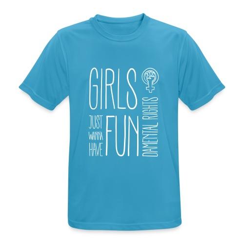 Girls just wanna have fundamental rights - Männer T-Shirt atmungsaktiv