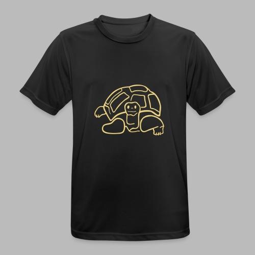 schildkröte landschildkroete aus den seychellen - Männer T-Shirt atmungsaktiv