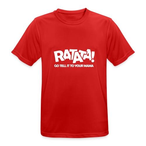 RATATA full - Männer T-Shirt atmungsaktiv