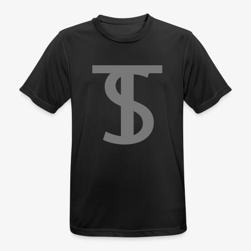 Shirt met logo - Mannen T-shirt ademend actief