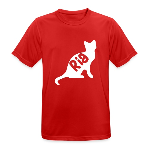 Team Ria Cat - Men's Breathable T-Shirt