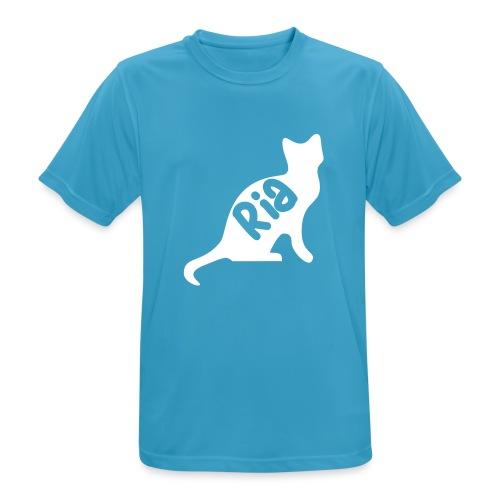 Team Ria Cat - Men's Breathable T-Shirt