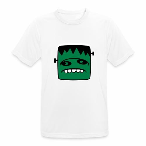 Fonster pur weißer Rand - Männer T-Shirt atmungsaktiv