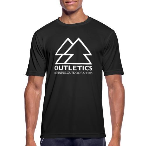 outletics denim - Männer T-Shirt atmungsaktiv