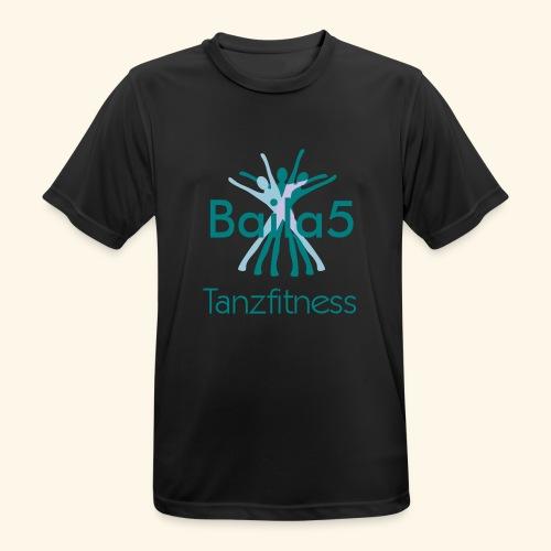 Baila5 Tanzfitness - Männer T-Shirt atmungsaktiv