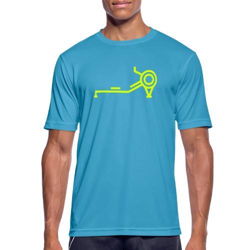 indoor rowing - Men's Breathable T-Shirt