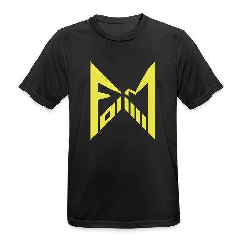 FM014 2019 black - Männer T-Shirt atmungsaktiv
