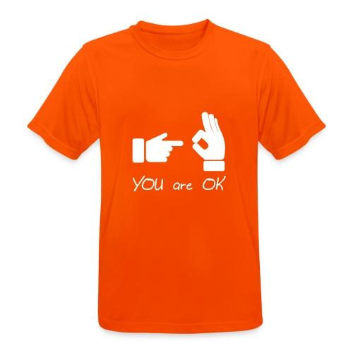 Tu vas bien (sexe, drôle) - T-shirt respirant Homme