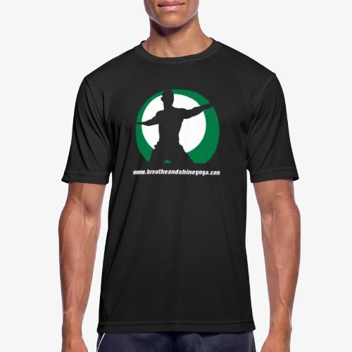Breathe & Shine Yoga - Men's Breathable T-Shirt