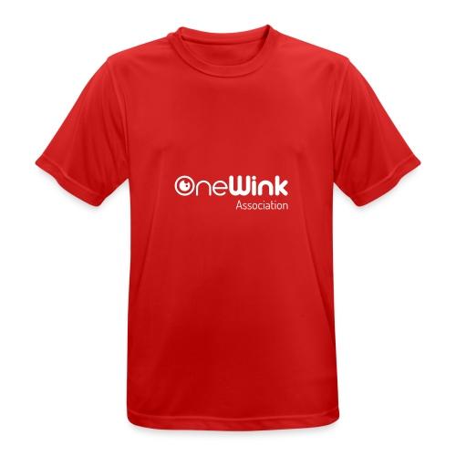 OneWink Association - T-shirt respirant Homme