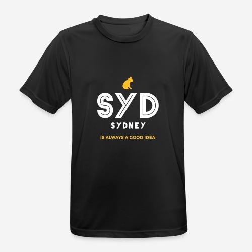 SYDNEY E' SEMPRE UNA BUONA IDEA! - Maglietta da uomo traspirante