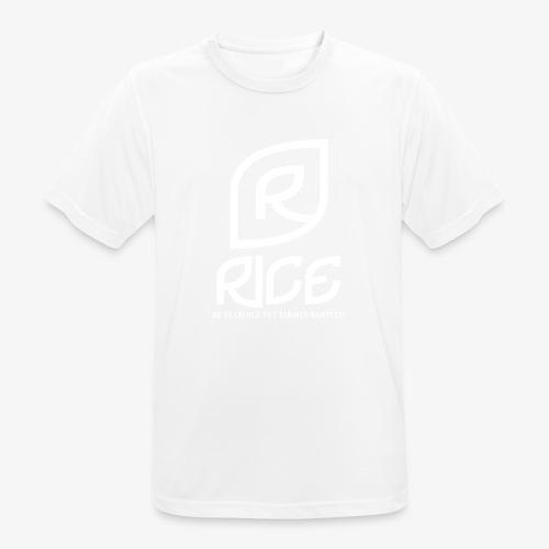 rice vector - Mannen T-shirt ademend actief