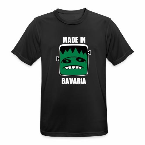 Fonster weiß made in Bavaria - Männer T-Shirt atmungsaktiv