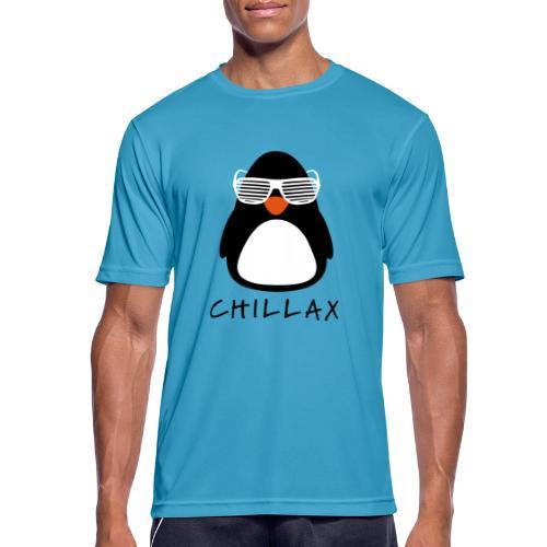 Chillax - mannen T-shirt ademend