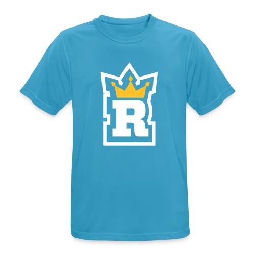 rule m vector white outline - Men's Breathable T-Shirt