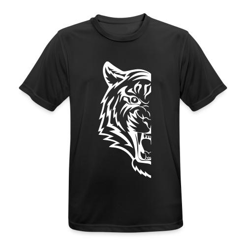 mezza tigre - Maglietta da uomo traspirante