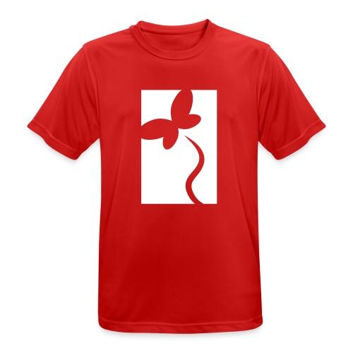 NeedRent logo - Herre T-shirt svedtransporterende