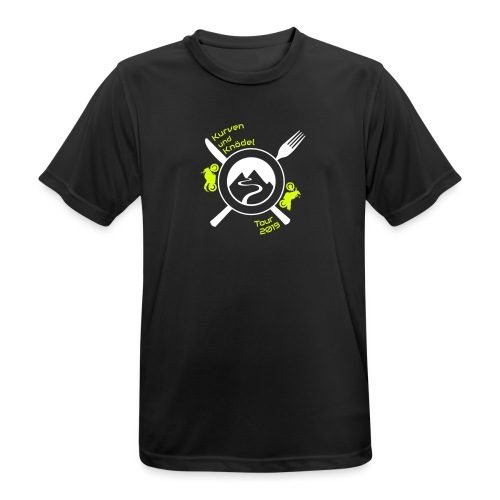 KuKT 19 shirt font color - Männer T-Shirt atmungsaktiv