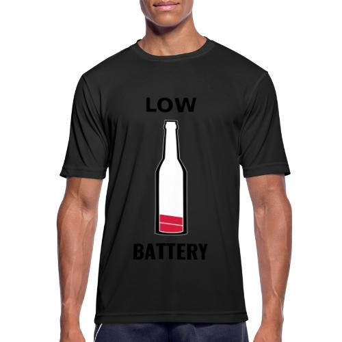 Beer Low Battery - T-shirt respirant Homme