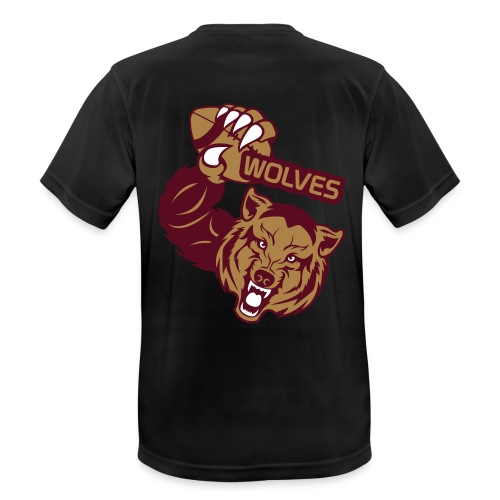 Wolves Rugby - T-shirt respirant Homme