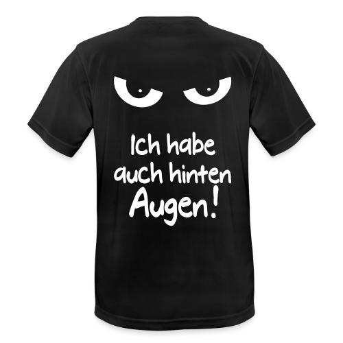 Böser Blick Augen Schlechte Laune Sprüche Geschenk - Männer T-Shirt atmungsaktiv